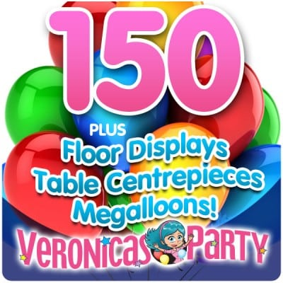 Complete Helium Balloon Party Pack 10