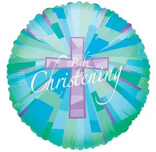 Baby Christening Blue 1