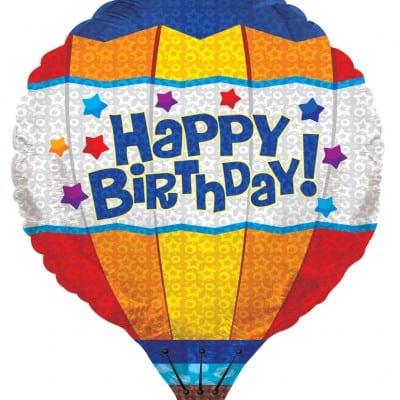 """Hot Air Balloon 3D 28"""" 1"""