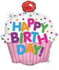 "Happy Birthday Cupcake 31"" 1"