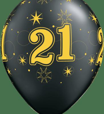 21 gold oxy Black