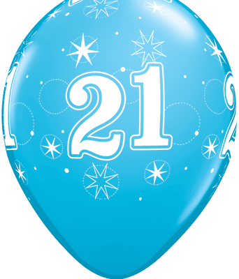 21 white robins egg blue