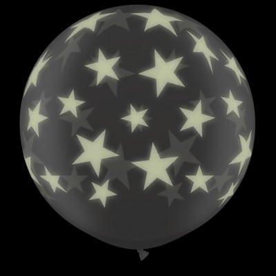 3ft Glow Stars-A-Round