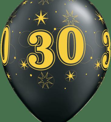 30 gold oxy black
