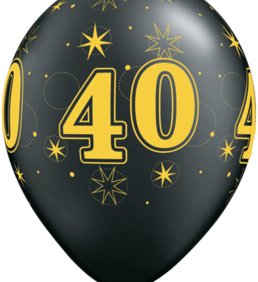 40 gold oxy black