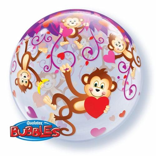 "Qt Bubble 22"" Love Monkeys 1"