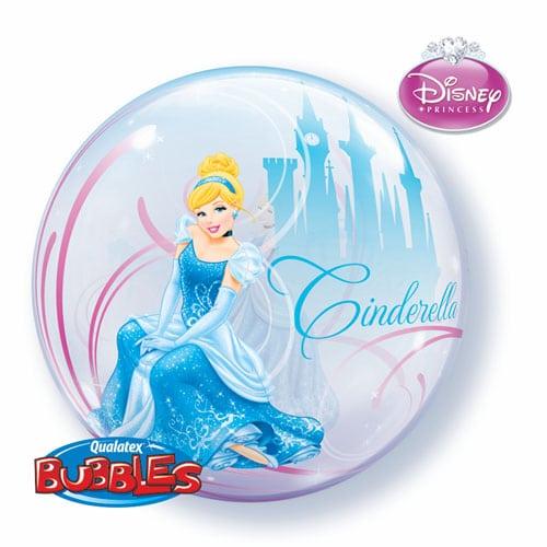 """Qt Bubble 22"""" Cinderella's Royal Debut 1"""