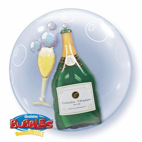 """Qt Double Bubble 24"""" Bubbly Wine Bottle 1"""