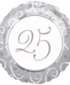 Foil 18inch 25th Anniversary
