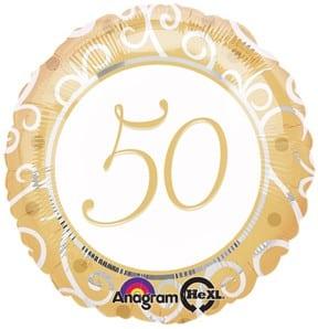Foil 18inch 50th Anniversary