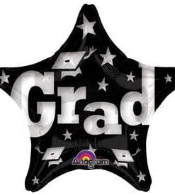 Foil 19inch Grad Stars