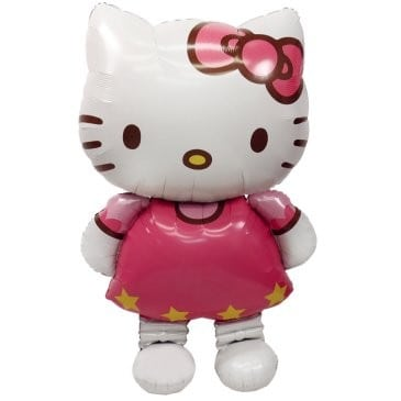 Foil AirWalker Hello Kitty Helium Balloon