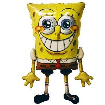 Foil AirWalker SpongeBob Sqaure Pants Helium Balloon