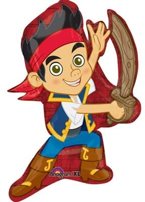 Foil Licensed Shape 32inch Jake & the Neverland Pirates