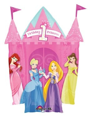 Foil Licensed Shape 35inch Princess Cake