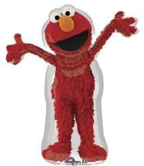 Foil Licensed Shape Elmo