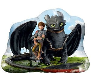Foil Licensed Shape How to Train your Dragon