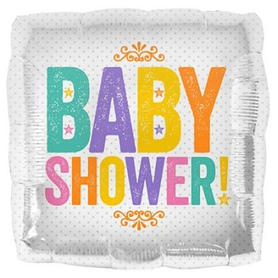 Northstar Foil 18inch Baby Shower Block Letters