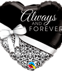 Qualatex Foil 18inch Always & Forever