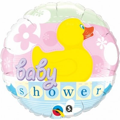 Qualatex Foil 36inch Baby Shower Rubber Duckie