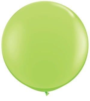 big_lime_latex_balloon_90