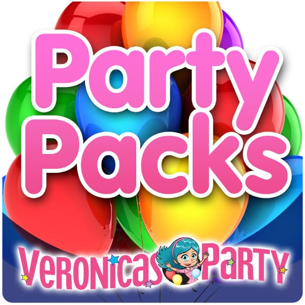 Helium Balloon Party Packs