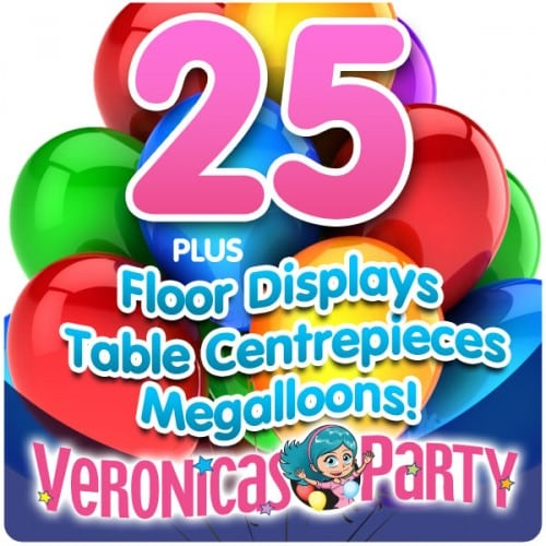 Complete Helium Balloon Party Pack 2