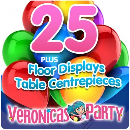 Complete Helium Balloon Party Pack 1
