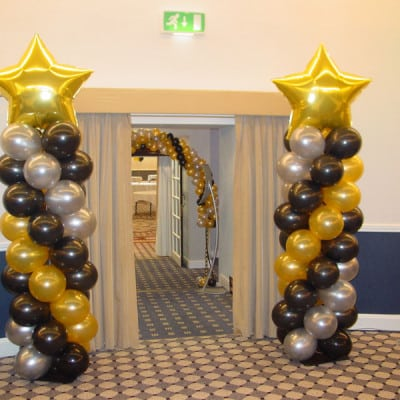 Balloon Columns – Classic with 90cm Shape